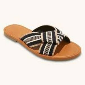 WOMEN'S RYLIE KNOTTED SLIDE SANDALS